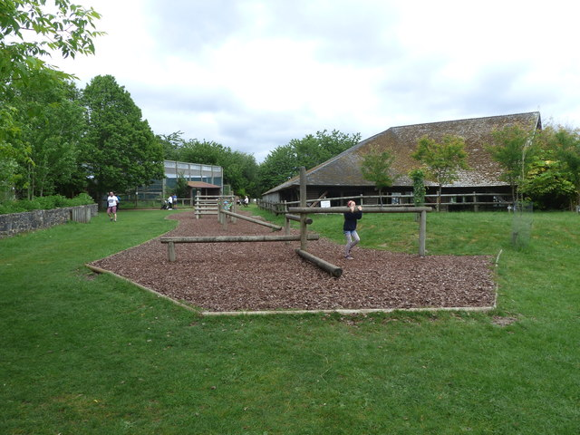 Play area for Homo sapiens at Monkey World