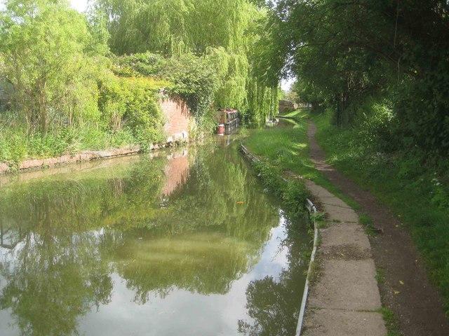 Oxford Canal: Reach in Cropredy