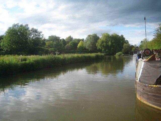 Oxford Canal: Reach south of Cropredy