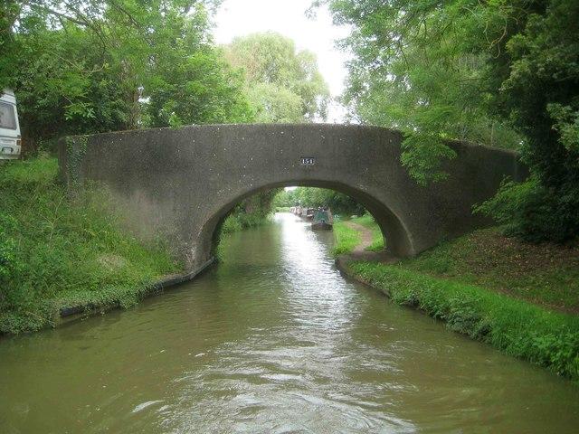 Oxford Canal: Cropredy Mill Bridge Number 154