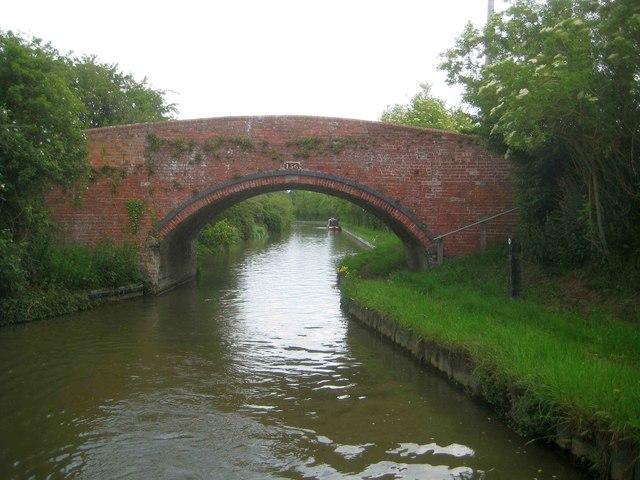 Oxford Canal: Slat Mill Bridge Number 156
