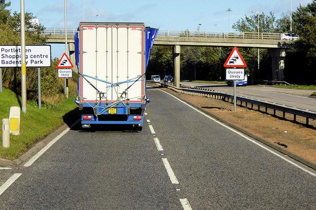 Bridge over the A92 at Portlethen