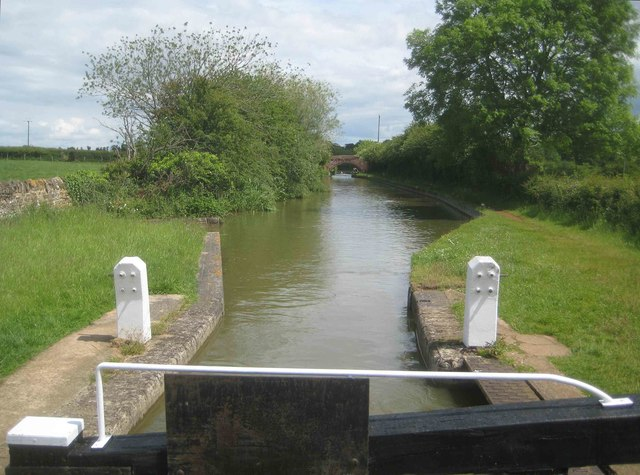 Oxford Canal: Reach upstream of Slat Mill Lock Number 26