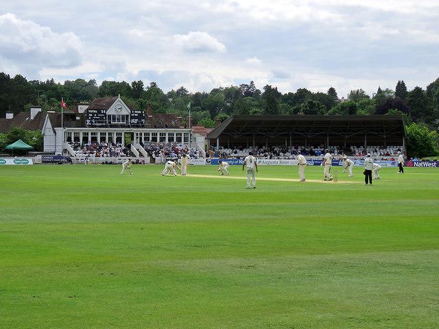 Tunbridge Wells: Kent on the verge of winning