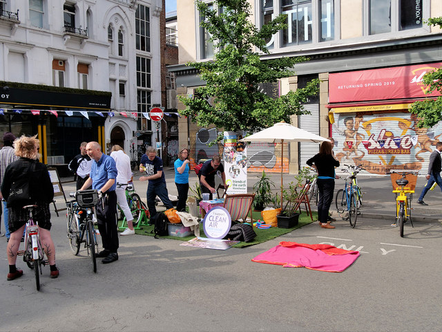 Friends of the Earth, The People's Pop-up Park