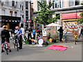 SJ8498 : Friends of the Earth, The People's Pop-up Park by David Dixon