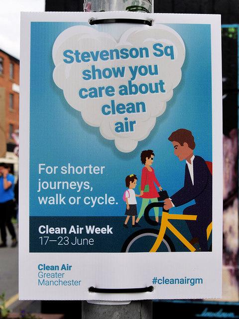 Clean Air Week, Stevenson Square