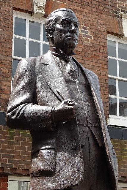 Statue of Stanley Baldwin