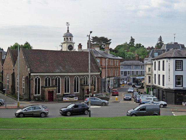Tunbridge Wells: King Charles the Martyr and rush-hour traffic