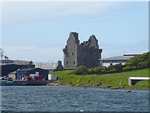 HU4039 : Scalloway Castle by Russel Wills
