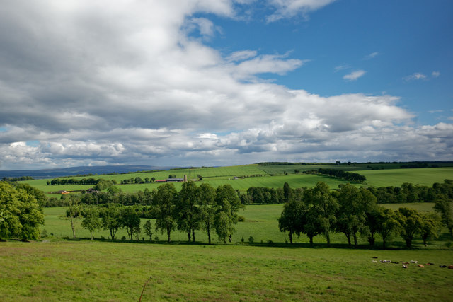 South from The Upper Drive, Rosehaugh
