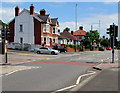 ST3488 : Chepstow Road pelican crossing near crossroads, Newport by Jaggery
