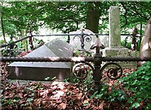 TG2408 : The burial plot of the Wright Family by Evelyn Simak
