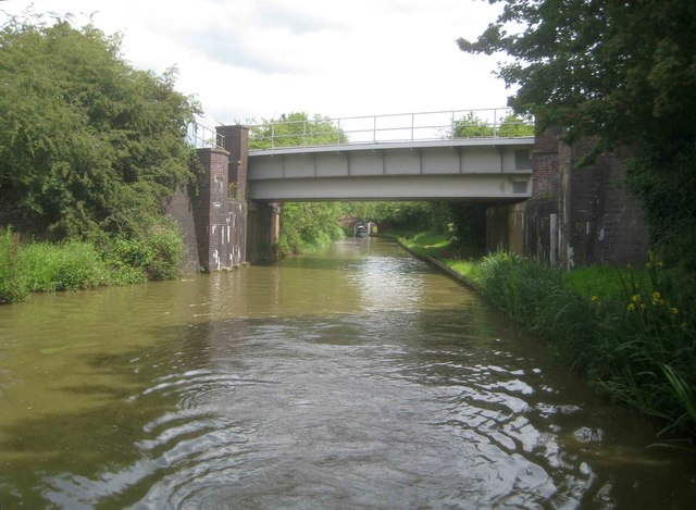 Oxford Canal: Railway Bridge Number 161A