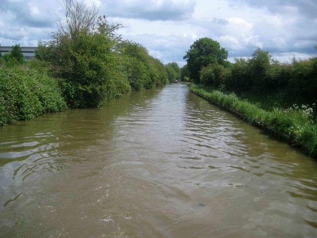 Oxford Canal: Reach north of Banbury