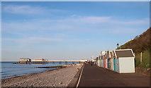 TG2142 : Cromer Promenade by Hugh Venables