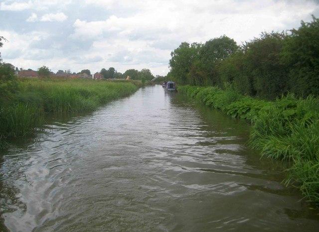 Oxford Canal: Reach in Bodicote