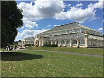 TQ1876 : Temperate House - Kew Gardens by Dave Thompson