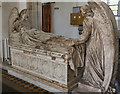 TG1728 : Memorial, St Andrew's church, Blickling by Julian P Guffogg