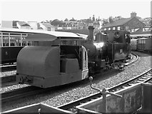 SH5738 : WWI locomotives at Porthmadog by Gareth James