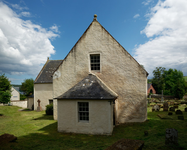 West wall of Cromarty East Church, Cromarty