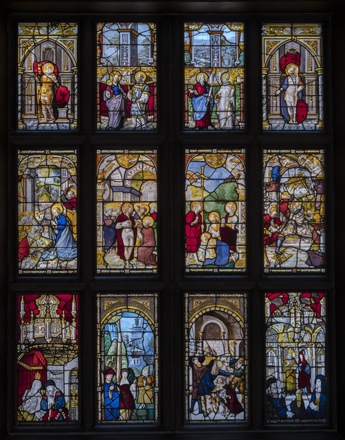 Stained glass window, Blickling Hall