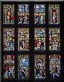 TG1728 : Stained glass window, Blickling Hall by Julian P Guffogg