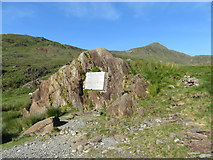 SH6152 : Gladstone Rock in Cwm Llan by Gareth James