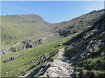 SH6152 : Snowdon from the Watkin Path by Gareth James
