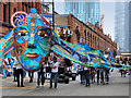 SJ8398 : Manchester Day 2019, Parade on Deansgate by David Dixon