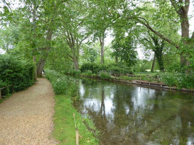 River Test at Mottisfont Abbey