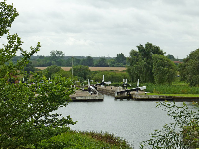 Knowle Locks south-east of Solihull