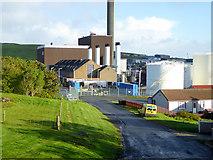 HU4642 : Mair's Yard and Power Station, Holmsgarth by David Dixon