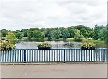 J3472 : The River Lagan from the Ormeau Bridge by Eric Jones