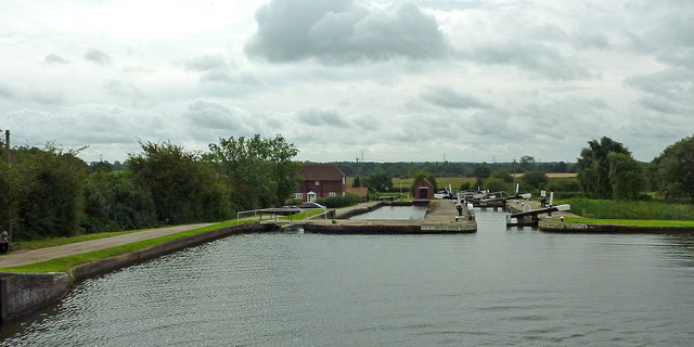 Grand Union Canal at Knowle Locks near Solihull