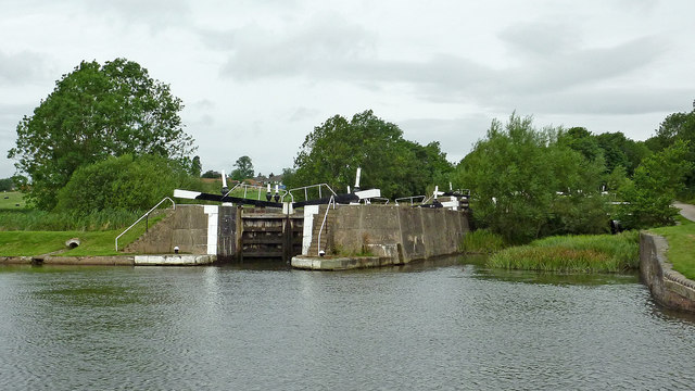Lock No 50 near Knowle south-east of Solihull