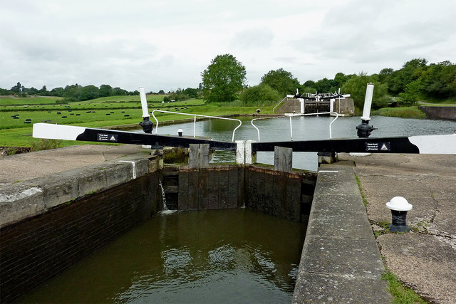 Lock No 48 near Knowle south-east of Solihull