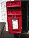 SH6268 : Elizabeth II post box, Rachub by Meirion
