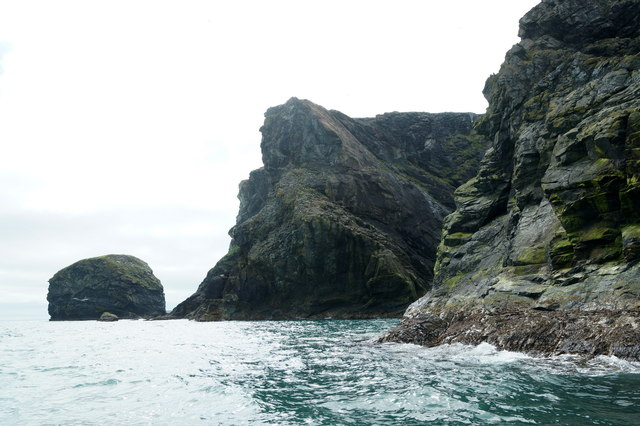 Stack of Birrier and the Clett, Fetlar