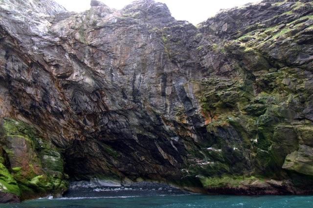 Geo between Birrier Stack and Busta Pund, Foula