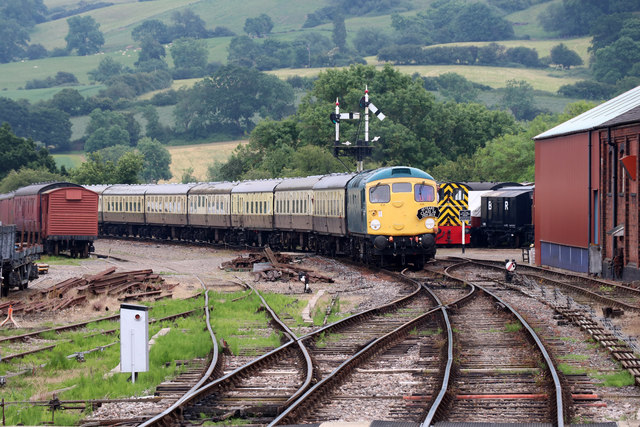 Gloucestershire Warwickshire Railway - Winchcombe Station approach