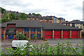 NS5767 : Maryhill Fire Station by Anne Burgess