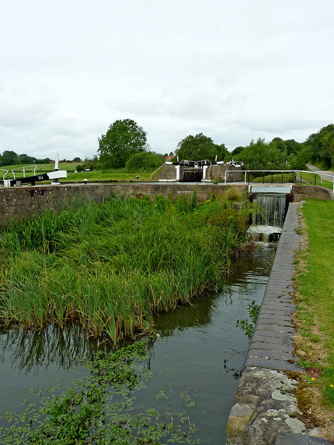 Basin by former lock near Knowle, Solihull