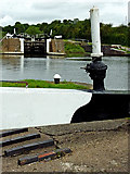 SP1976 : Knowle Locks south-east of Solihull by Roger  Kidd