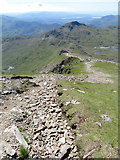 SH6053 : Descending from Bwlch Main on Snowdon's south ridge by Gareth James