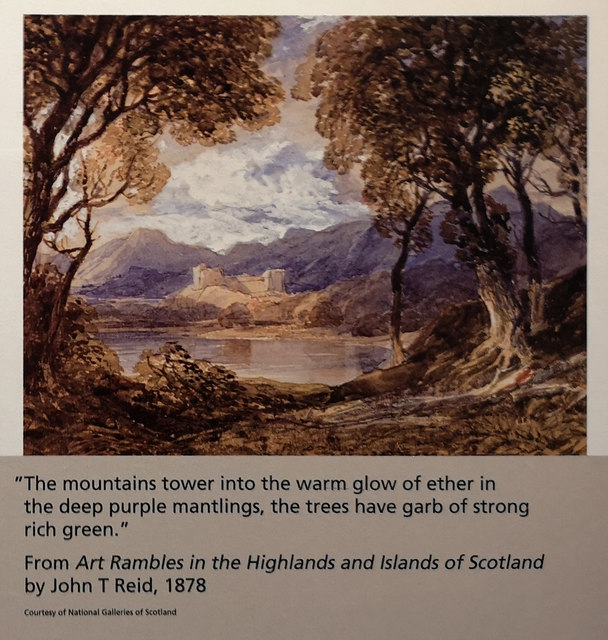A picturesque view of Scotland, 1878, Riverside Museum, Glasgow