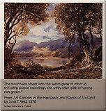 NS5565 : A picturesque view of Scotland, 1878, Riverside Museum, Glasgow by Julian Paren