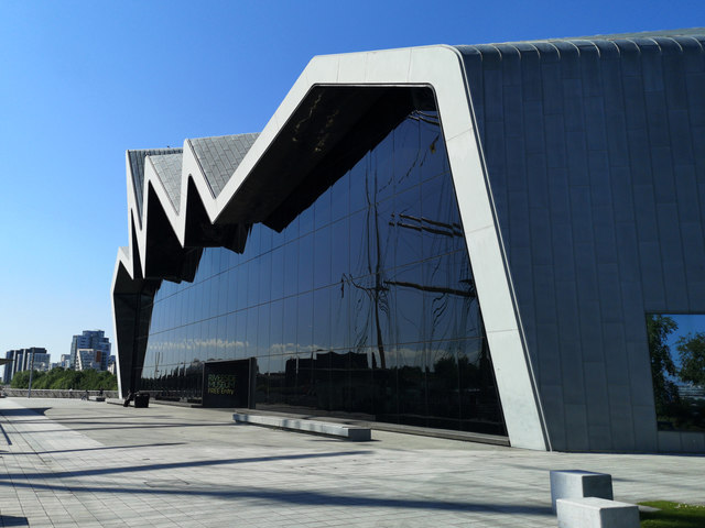 Exterior of the Riverside Museum, Glasgow