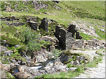 SH6251 : Derelict building in Cwm Llan by Gareth James