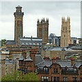 NS5766 : Park District towers by Alan Murray-Rust